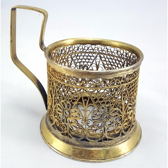 Filigree Tea Glass Holder