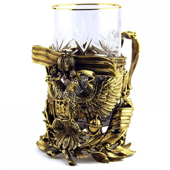 Imperial Eagle Tea Glass Holder 1