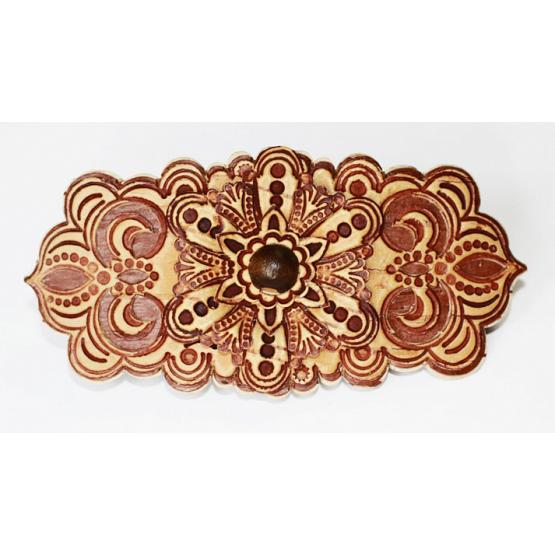 Russian Birch Bark Barrette