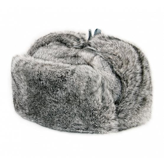 Rabbit Fur Russian Trooper Hat 1