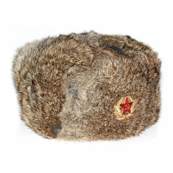 Rabbit Fur Russian Trapper Hat 1