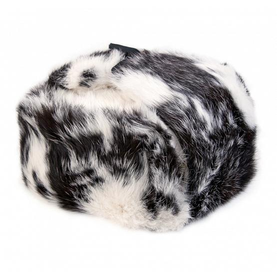Rabbit Fur Russian Ear Flap Hat 1