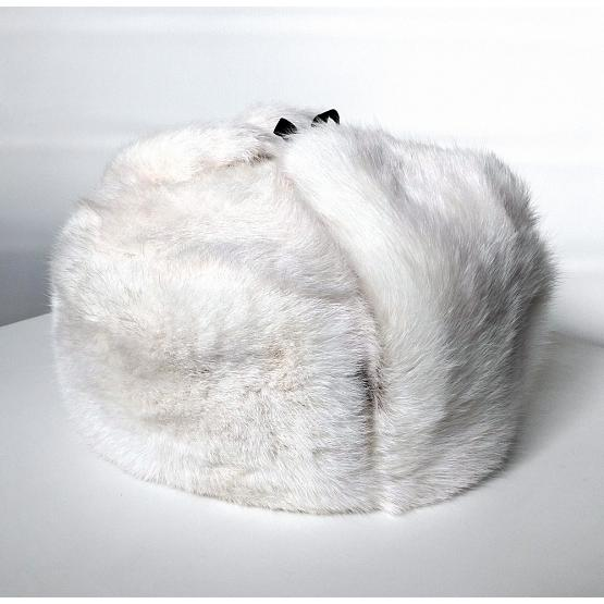Rabbit Fur Russian Aviator Hat 1