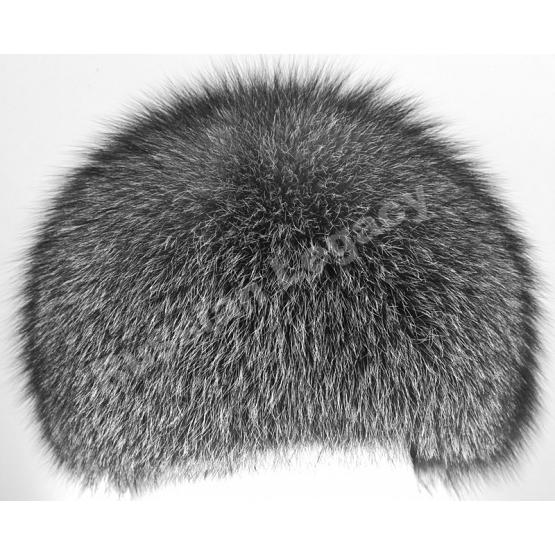 Women's Silver Fox Full Fur Hat 1