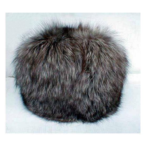 Silver Fox Fur Hat 2