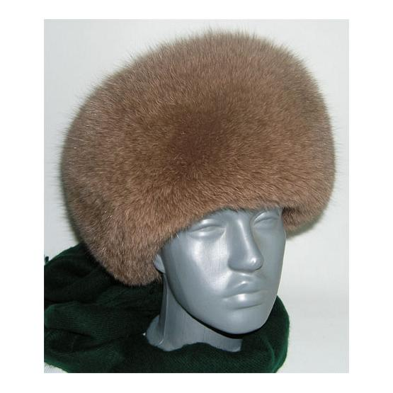 Women's Fox Full Fur Hat Beige