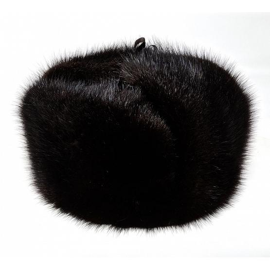 Real Muskrat Fur Ushanka Hat 1