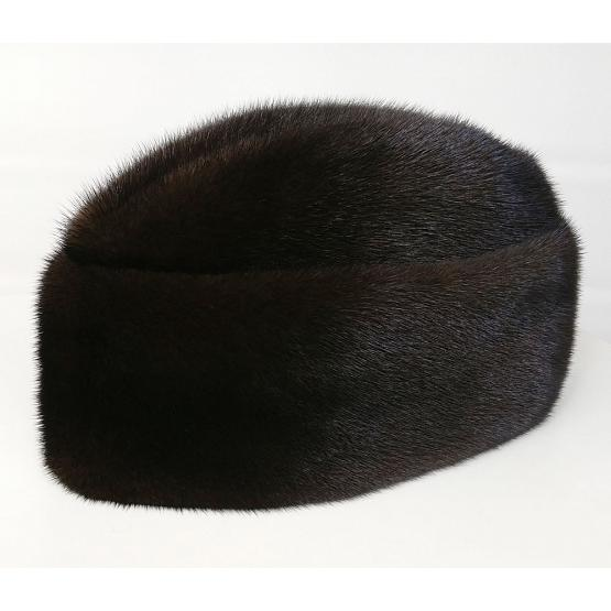 Real Mink Fur Diplomat Hat 1