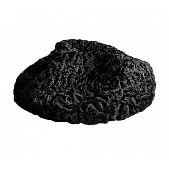 Women's Persian Lamb Beret 1