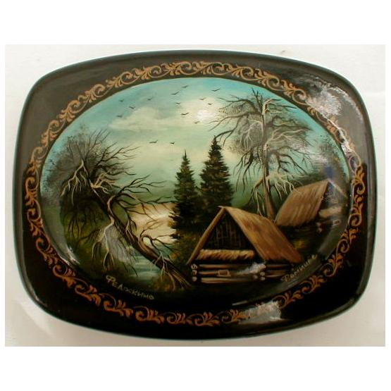 In the Woods Lacquer Box 1