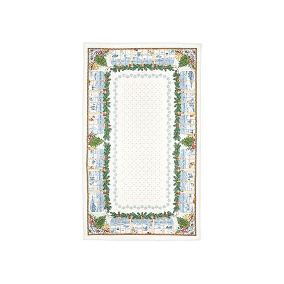 Christmas Pure Linen Tablecloth 1