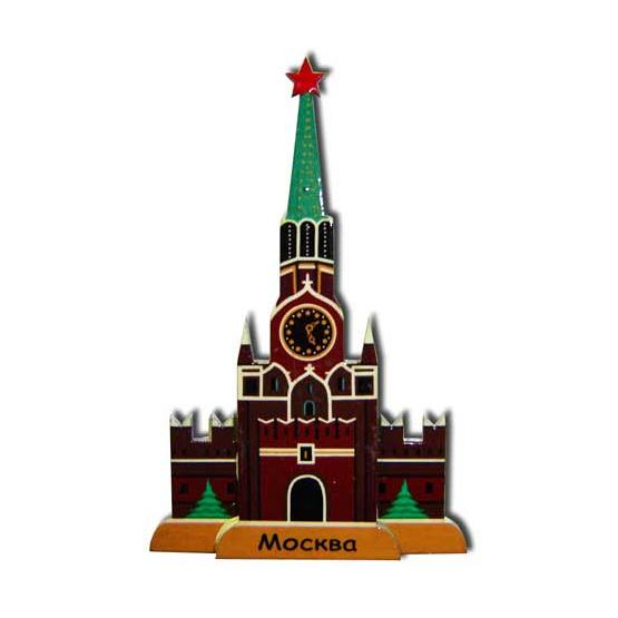 Kremlin Tower Fridge Magnet