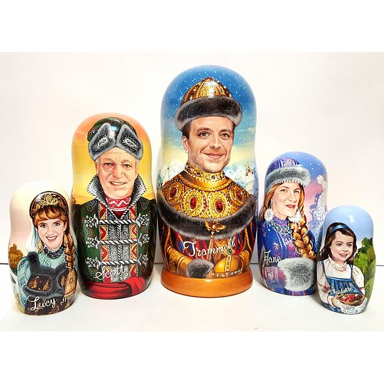 Personalized Family Nesting Doll 1