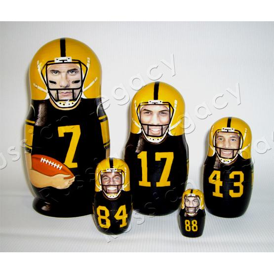 Custom NFL Matryoshka Doll 1