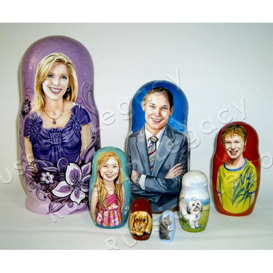 Custom Family Matryoshka