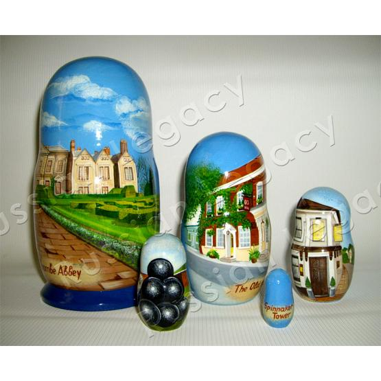 Architecture Custom Matryoshka 2