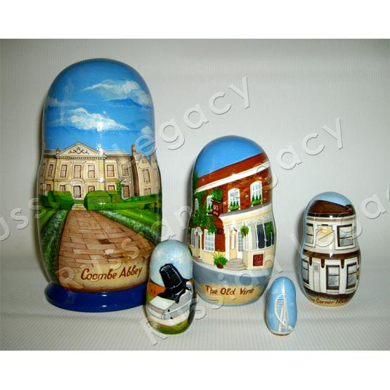 Architecture Custom Matryoshka 1