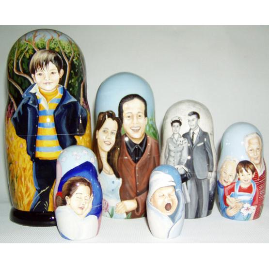 Family Custom Souvenir Doll 1