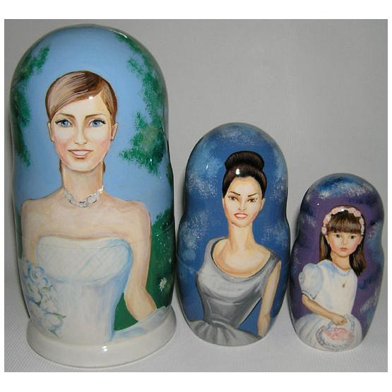 Custom Wedding Favor Matryoshka 1
