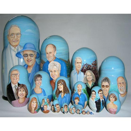 Family Custom Matreshka 1