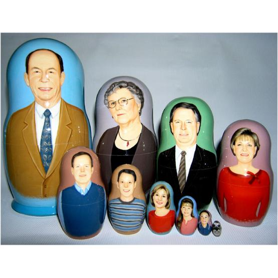 Family & Pet Custom Doll 1