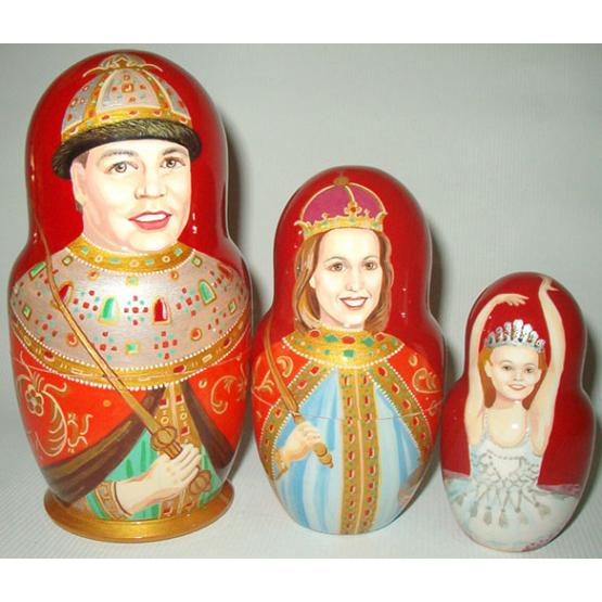 Tsarist Family Custom Doll