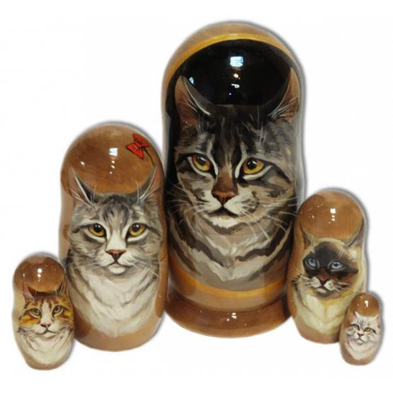 Cats Nesting Doll