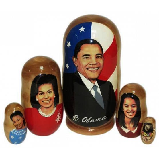 Obama Family Russian Doll