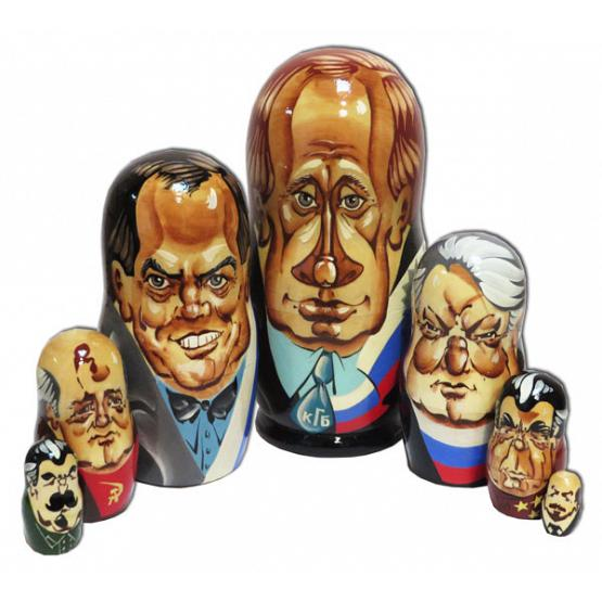 Political Caricature Matryoshka
