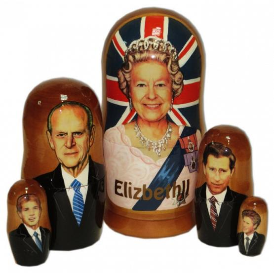 Royal Family Nesting Doll