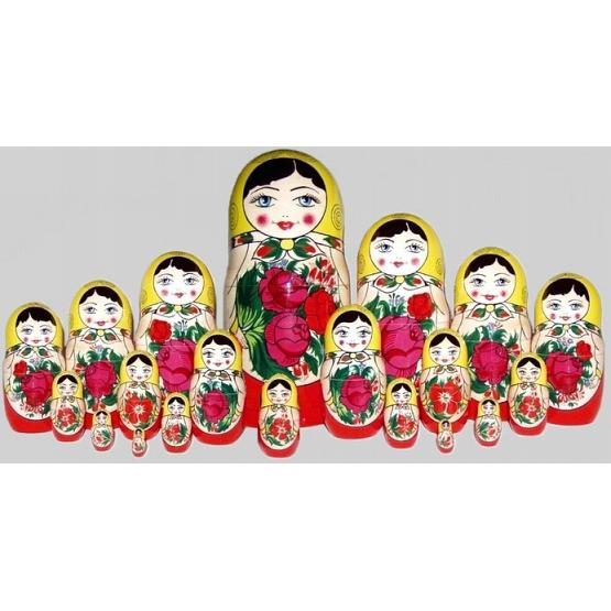 Semenov 20 Piece Russian Doll