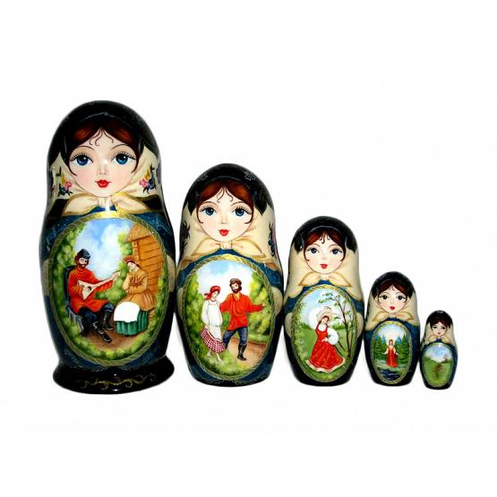 Summer in Village Russian Doll 1