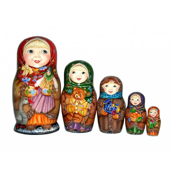 Happy Christmas Matryoshka 1
