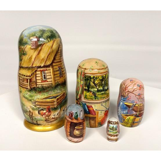 Village Life Russian Doll 2
