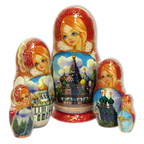 Cathedrals Nesting Doll