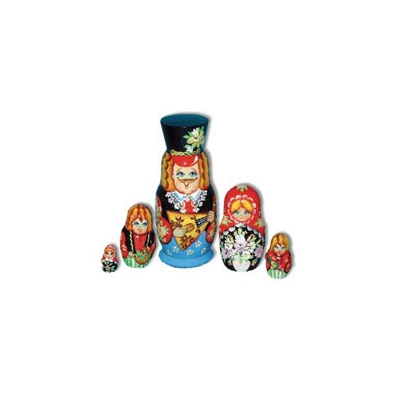 Balalaika Matrioshka Doll