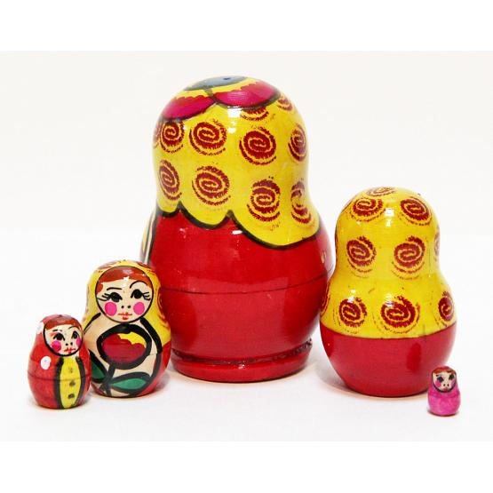 Maydan 5 Piece Stacking Doll 2