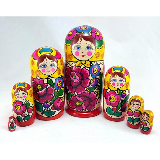 Maidanov 7 Piece Nesting Doll 1