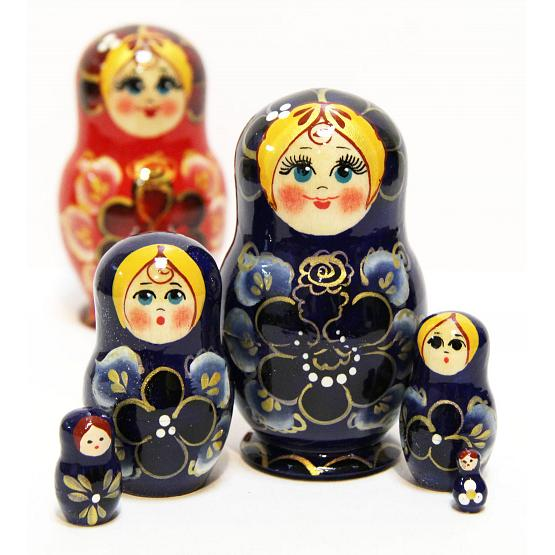 Floral Nesting Doll 2