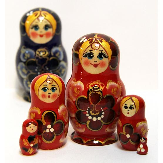 Floral Nesting Doll 1