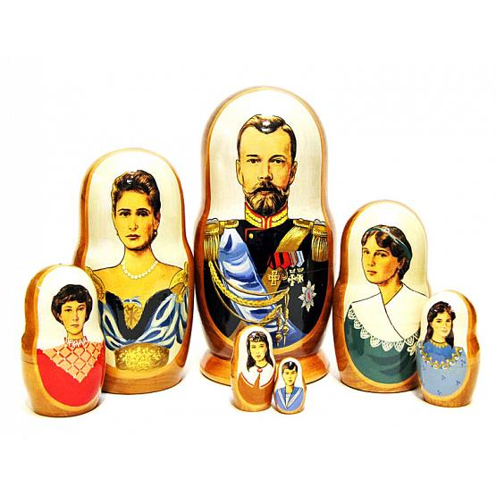 Nicholas II Family Russian Doll