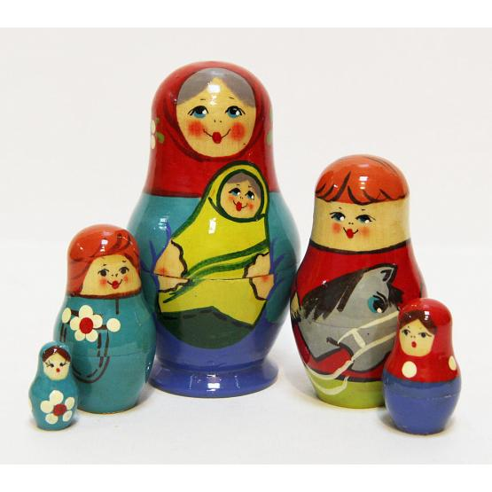 Village Kids Matryoshka