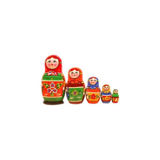 Russian Girls Matryoshka