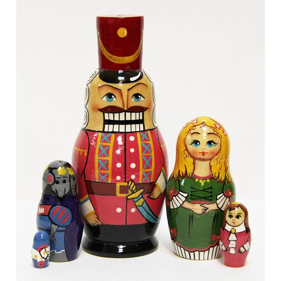 Nutcracker Nesting Doll 1