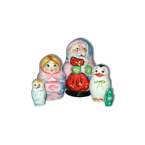 Father Frost & Friends Doll