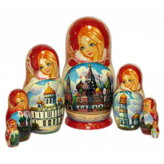 Orthodox Churches Matryoshka
