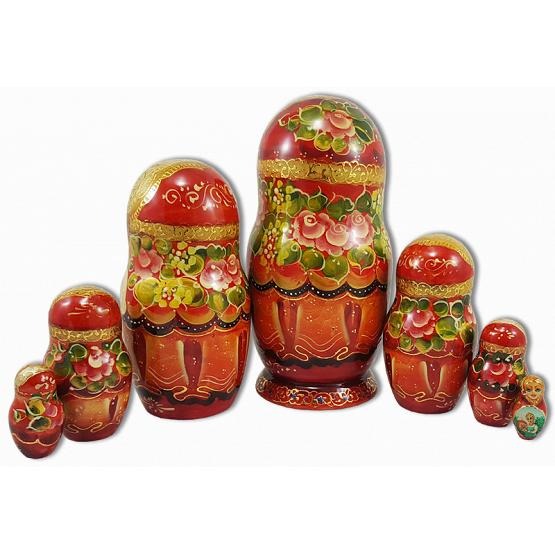 Tsarevitch Ivan Fairy Tale Russian Doll 2