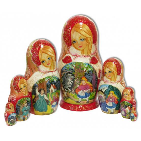 Red Riding Hood Nesting Doll