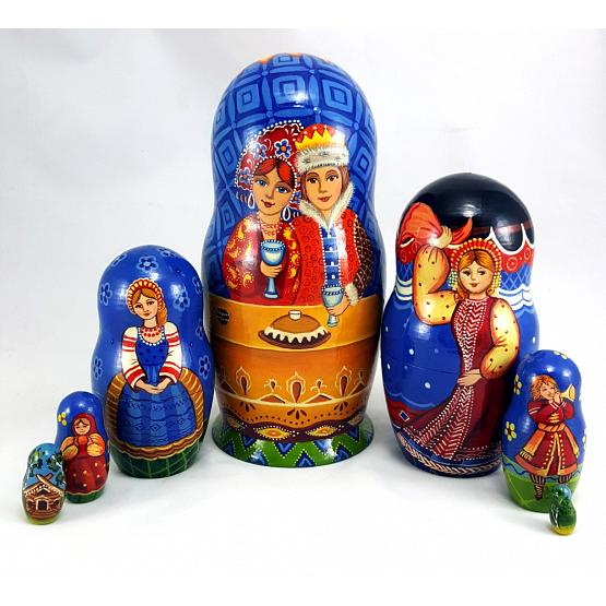 Russian Wedding Matryoshka 1