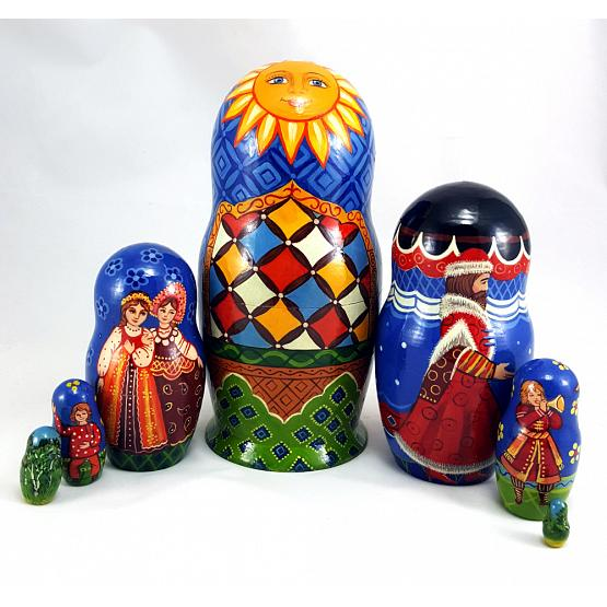 Russian Wedding Matryoshka 2